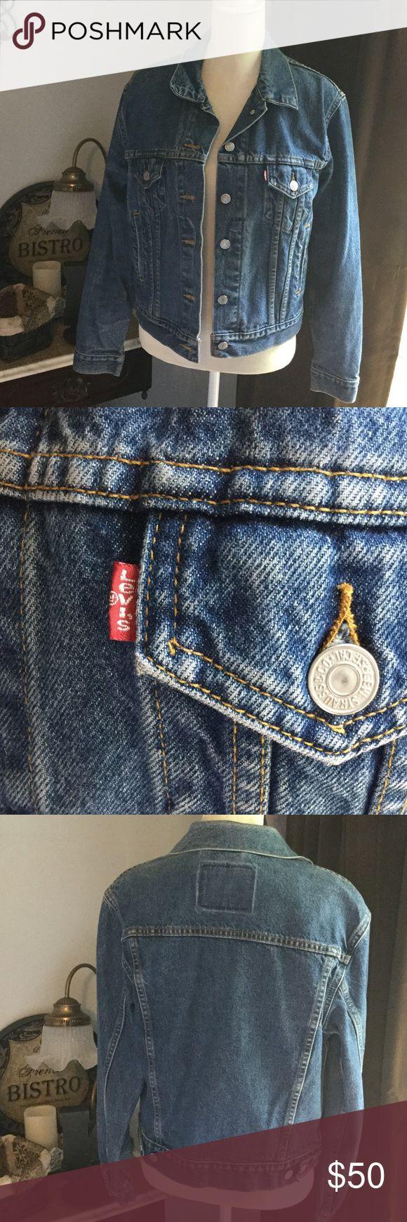 Vintage Levi's Jean Jacket Nice Levi's Jean Jacket. Vintage but Like New. Size Medium. Price Firm. Levi's Jackets & Coats Jean Jackets