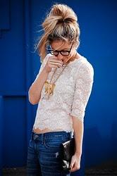 lace shirt <3