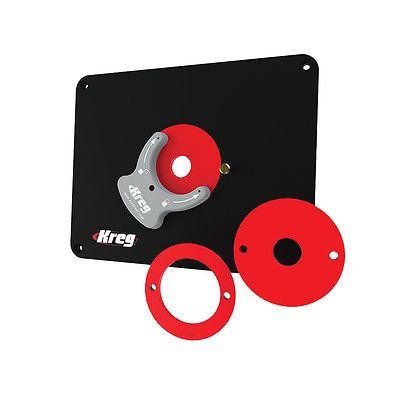 Router Tables 75680: Kreg Tool Company Prs4034 Insert Plate - Predrilled For Triton -> BUY IT NOW ONLY: $59.95 on eBay!