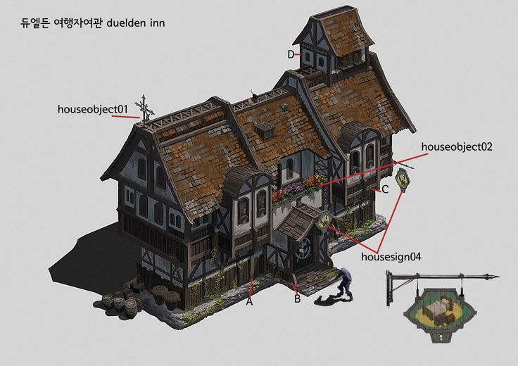 Artstation duelden tempano port objects duwon lee 중세