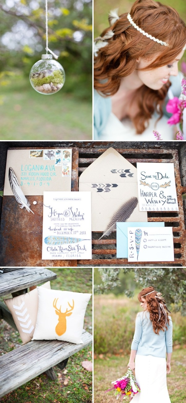 Birds of a Feather Photo Shoot by Diana Lupu Photography + Kasey D Weddings | Style Me Pretty