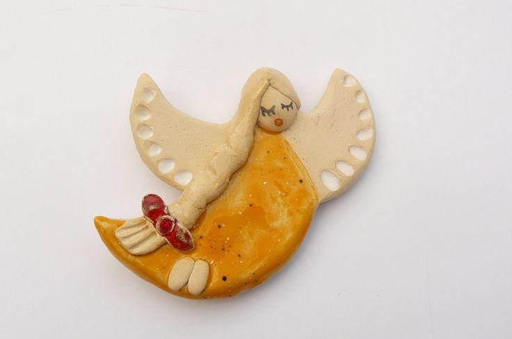 Aniołek ceramiczny