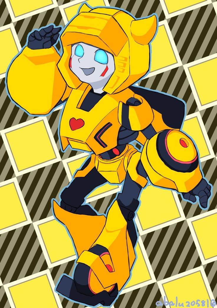 Inspiration from bumblebee of the Transformers
