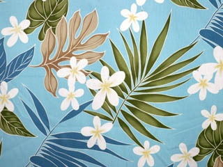 CA1531 - 100% Cotton Fabric: All-Over Hawaiian Print Fabric