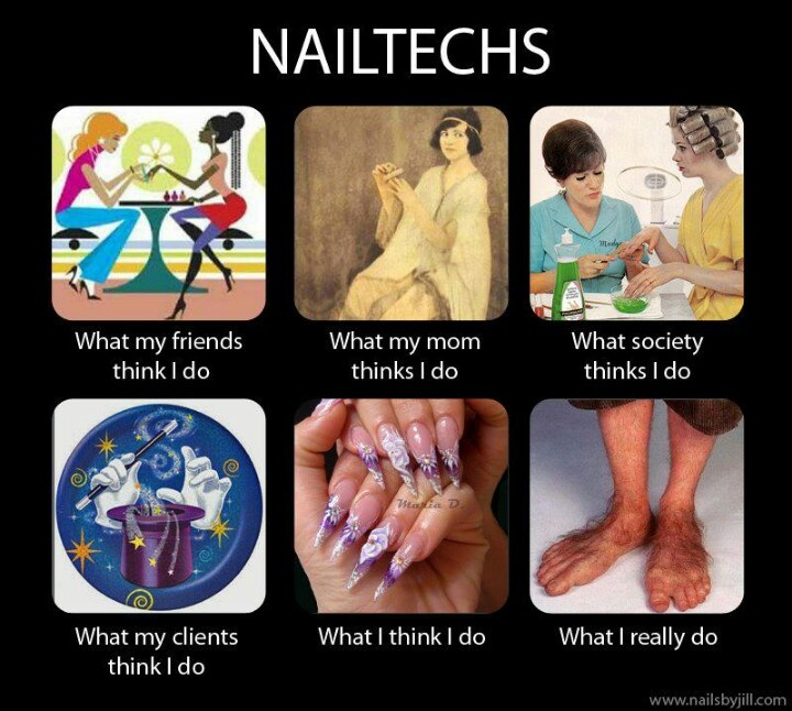 Funny Nail Salon Memes