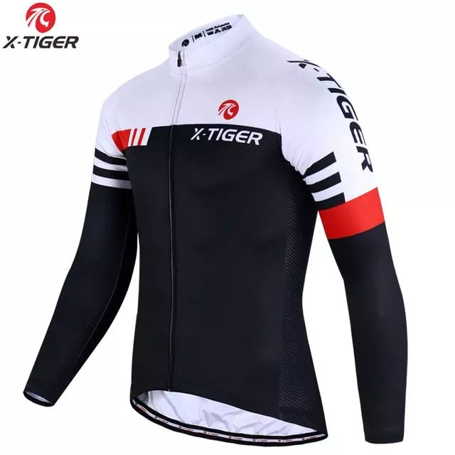 Camisetas de ciclismo de manga larga para hombres de manga larga Breathable