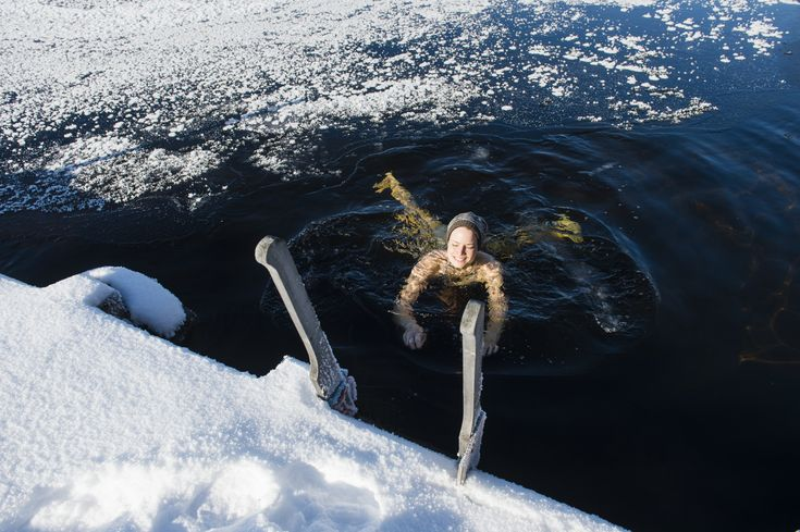 For many Finns, winter is the time for swimming in freezing water, in holes cut in the ice. There's even a national championship. What on earth makes people want to do this?