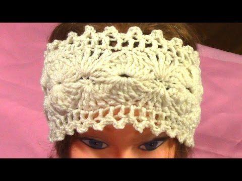 Tutorial for Hot Crochet Fashionable Headband, DIY