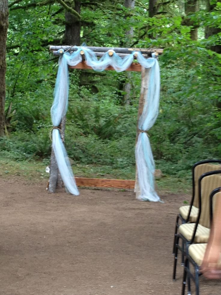 Rustic Trellis For Outdoor Country Wedding Beef It Up With Some Lights And Fall