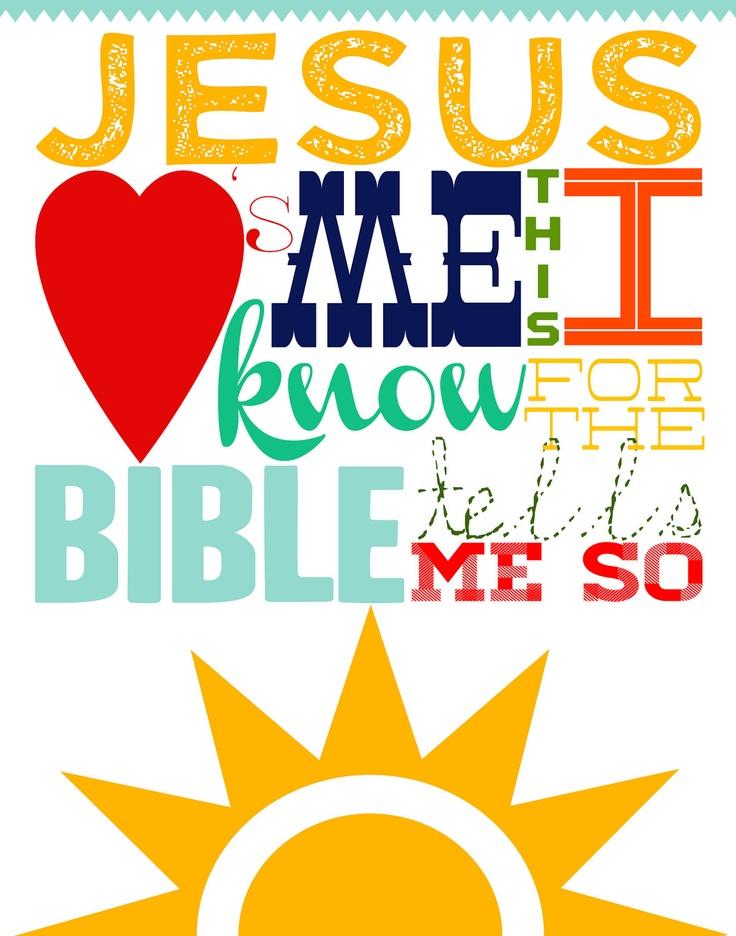 Jesus loves me❣