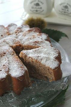 Torta farina di castagne e ricotta
