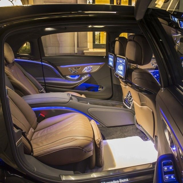 the all new mercedes maybachs almost 18 feet of length allows for unparalleled comfort - Mercedes Maybach Interior