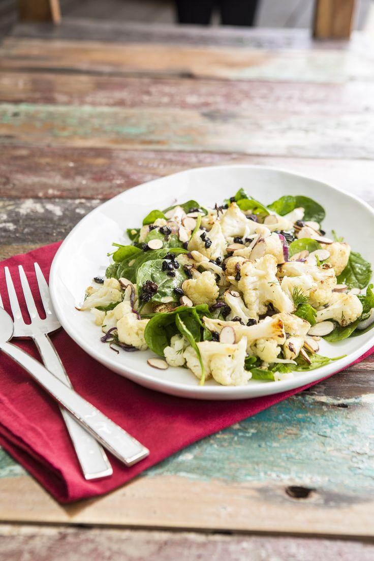 Warm Cauliflower Salad #teninaholder #thermomix #cookingwithtenina #glutenfree #dairyfree #vegetarian