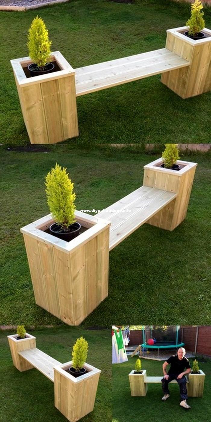 30 Fascinating Diy Pallet Wood Projects For Home Diy Pflanzer Gartenprodukte Palettengarten