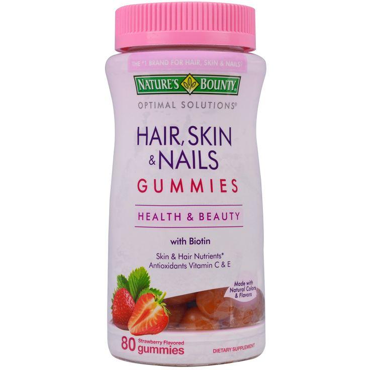 мультивитамины для здоровья волос, кожи, ногтей