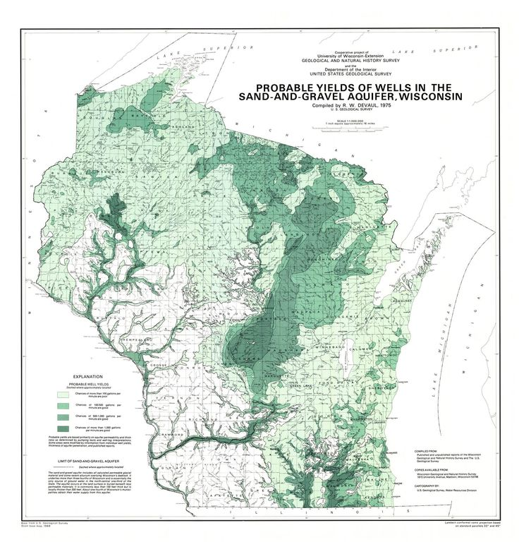 Map Of The Day June 13 Probable Yields Of The Sand And