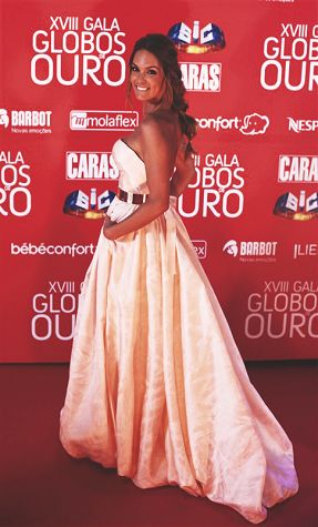 Diana Chaves at 'Globos de Ouro 2013'.