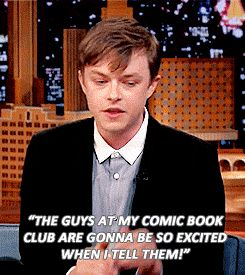 Dane Dehaan talking about what his dad said to him when he heard Dane was gunna be in The Amazing Spider-Man 2