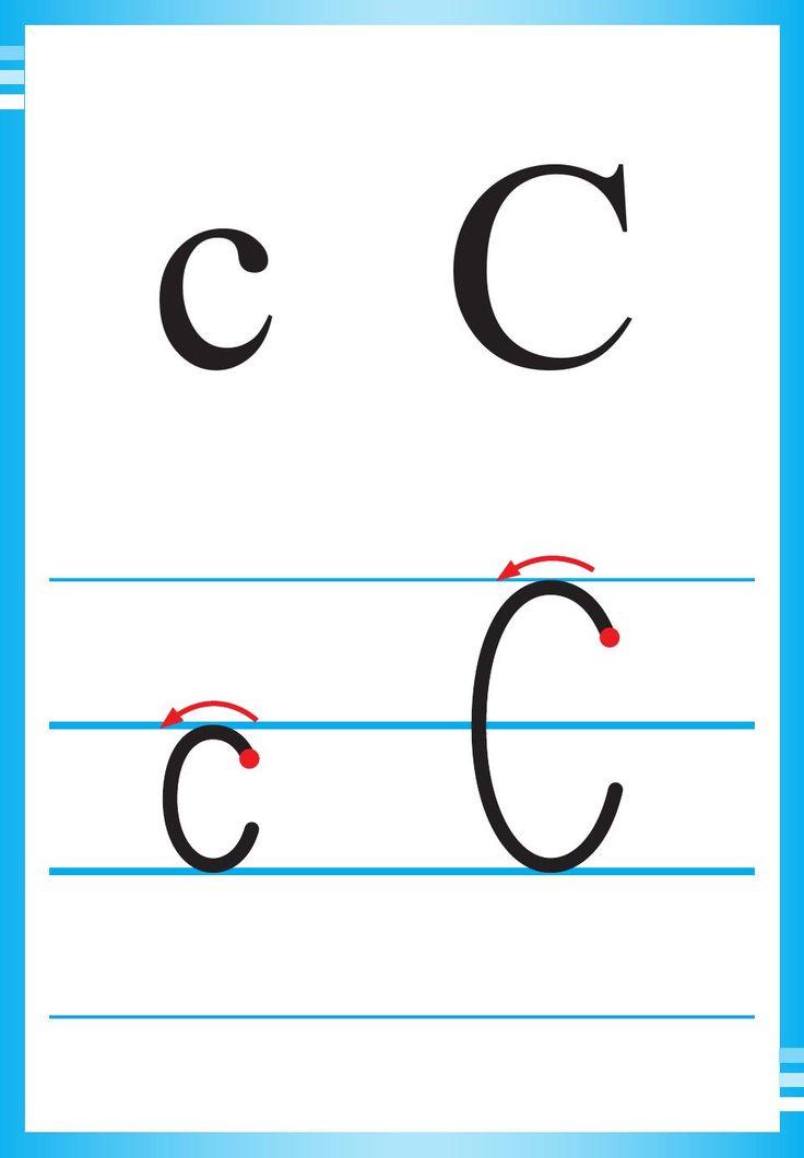 Alfabet polski, pisany dla dzieci do druku 5