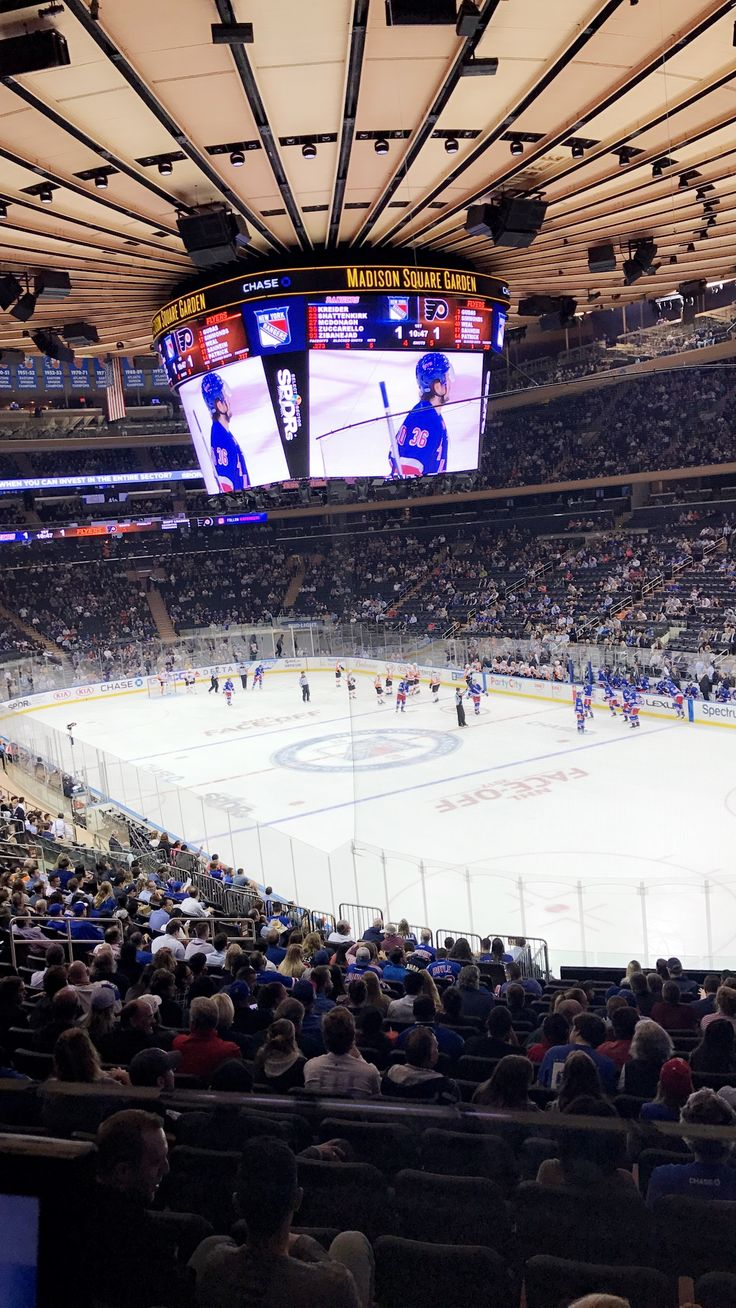 NYC Rangers game