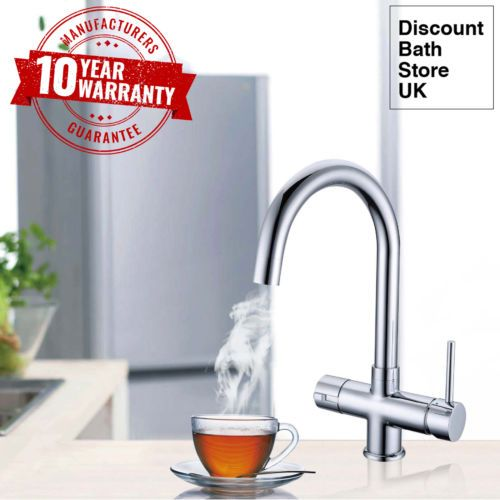 £229 Instant-Hot-Boiling-Water-Kitchen-Tap-3-in-1-Cold-Hot-Water-amp-Heating-Unit