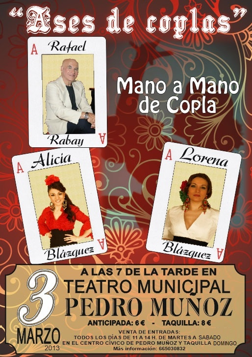 El domingo 3 de marzo la Copla llegará a Pedro Muñoz de la mano de las hermanas Blázquez.