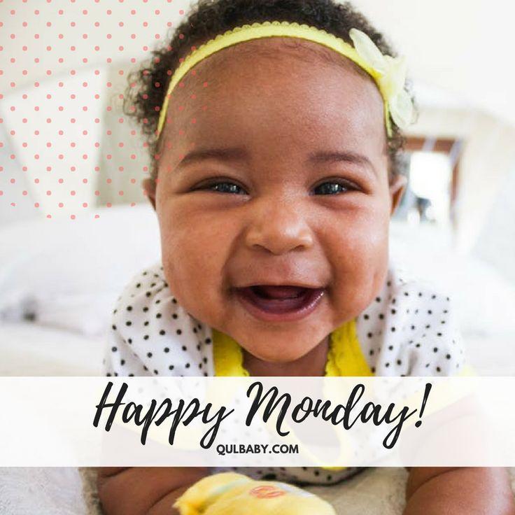 Happy Monday Qulbabies Baby Quotes Babies Diaper Bag
