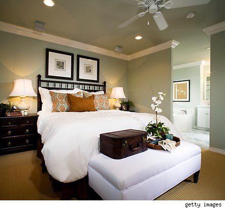 47 best images about Bedroom ideas on Pinterest   Flock ... on Luxury Bedroom Ideas On A Budget  id=53910