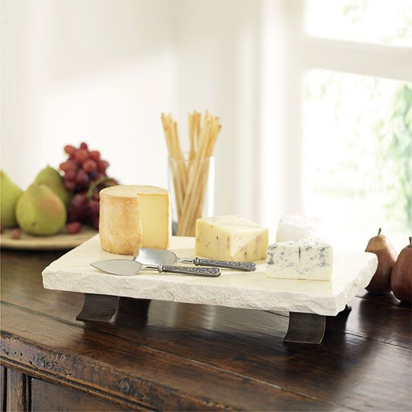 Cheese plates from Wisteria.