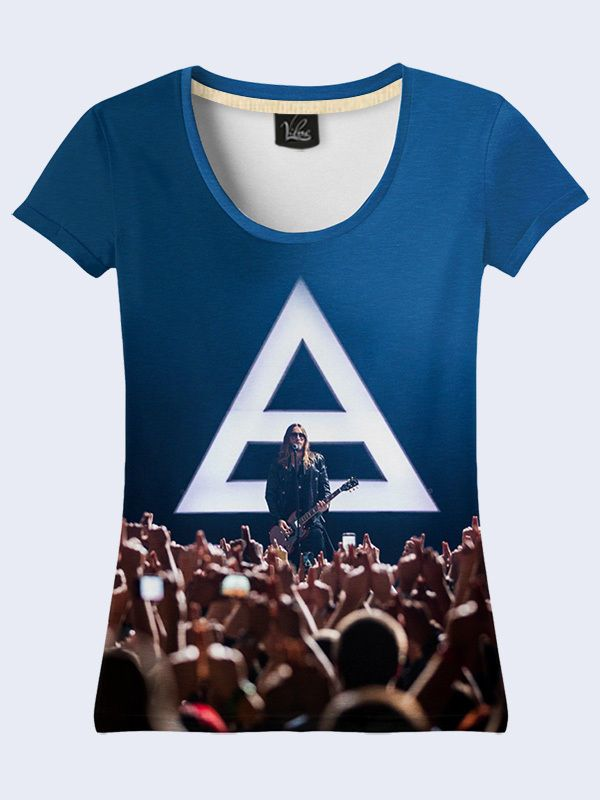 30 Seconds To Mars Fashion Women's T-Shirt S M L XL XXL Alternative Rock Blue #TMVilno #BasicTee