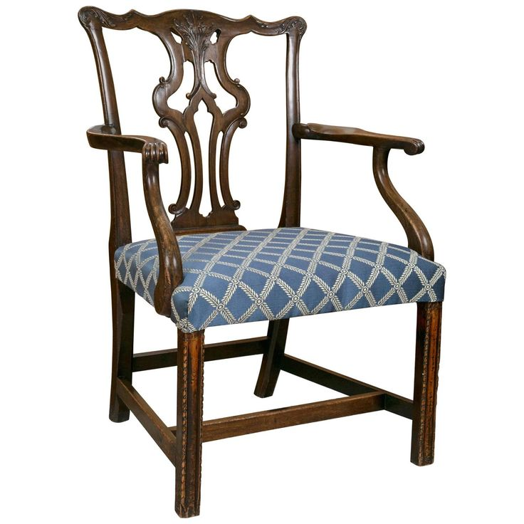 George Iii Mahogany Armchair Armchairs Georgian And