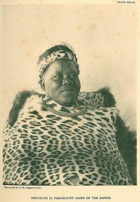 TRIP DOWN MEMORY LANE: PEDI (BAPEDI/NORTHERN SOTHO) PEOPLE: SOUTH AFRICAN WARRIOR TRIBE