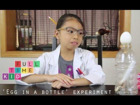 Snappy Science - The egg in the bottle experiment - Cool Australia