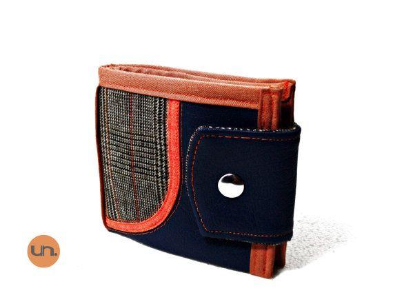 Vegan Wallet Cool Wallet Smart Wallet for Men by theUNUSUALconcept