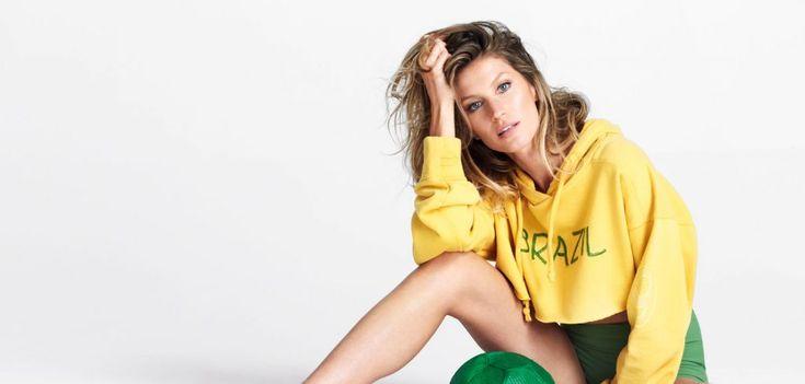 Gisele Bündchen a défilé pour l'inauguration des Jeux Olympiques de Rio ! * Chloé Fashion & Lifestyle