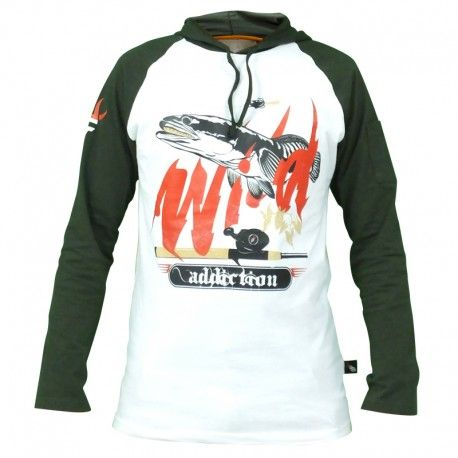 "Hoodie Mancing IFT ""WILD ADDICTION"""