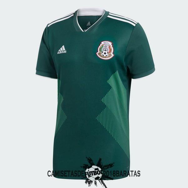 Camiseta copa mundo 2018|camisetas de fútbol baratas  Comprar camiseta  primera México Copa del Mundo 201. 8d77210d531ae