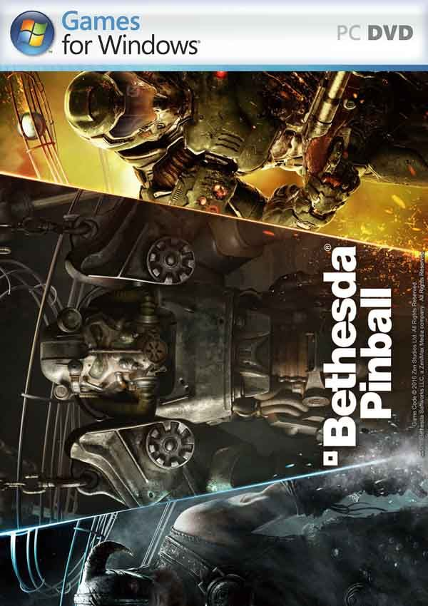 Pinball FX2 Bethesda Pinball Download Cover Free Game