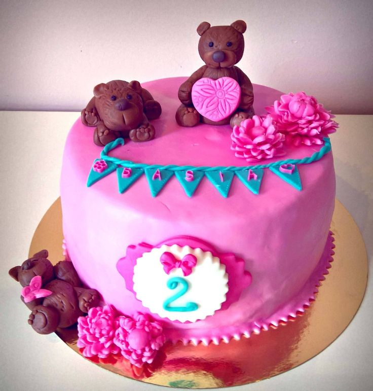 Teddy Bear Cake for girl Tort Misie dla dziewczynki https://www.facebook.com/1844109082573556/photos/a.1847353418915789.1073741829.1844109082573556/1901286410189156/?type=3&theater