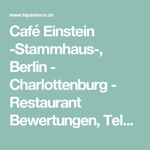 Lovely Caf Einstein Stammhaus Berlin Charlottenburg Restaurant Bewertungen Telefonnummer u Fotos