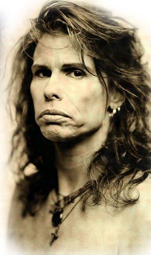 Aerosmith steven tyler aerosmith photoshoots for Steven tyler tattoos
