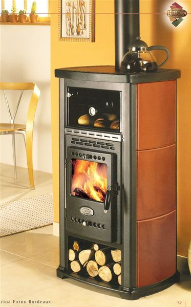 wood burning stove, would love to have one of these!