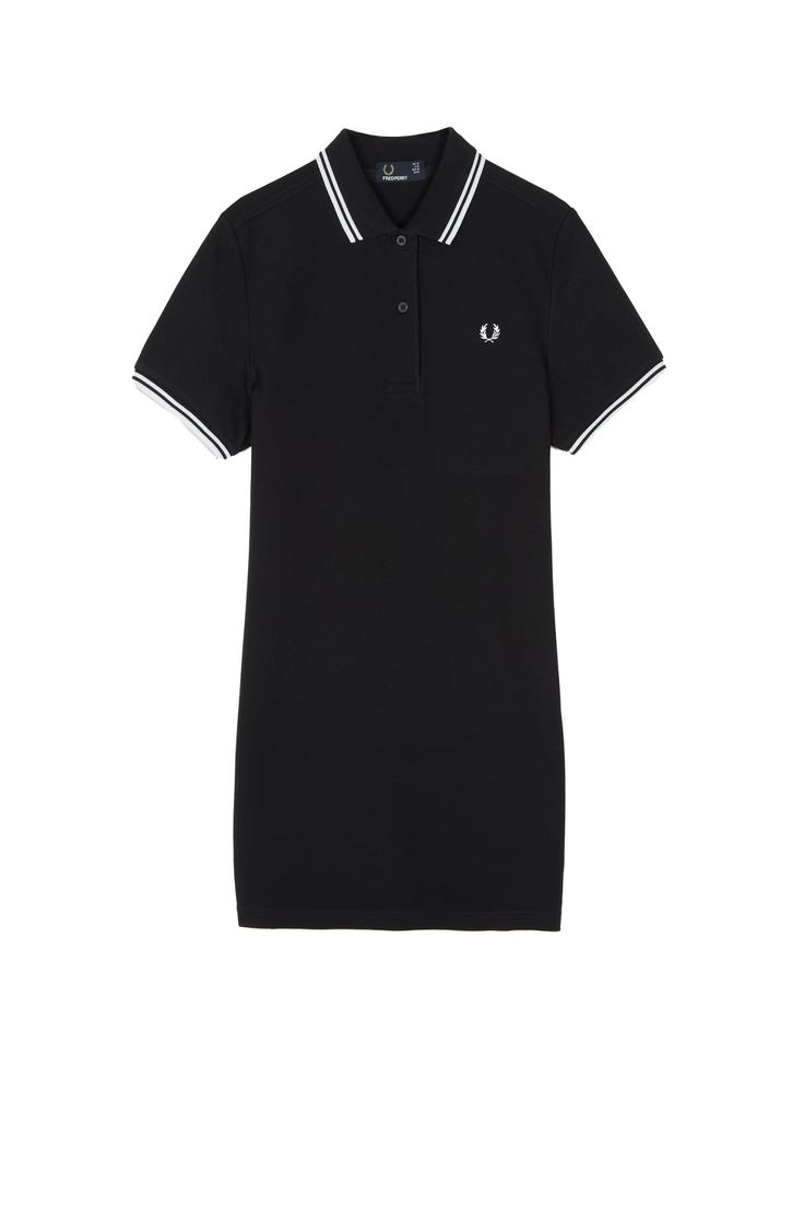 Fred Perry - Twin Tipped Fred Perry Dress Black