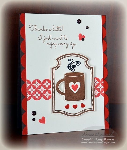 pick me up coffee cards clear stamps rubber stamping sweets stamp sets ...