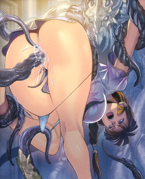 Video. I'd Girls hentai tentacle monsters had once