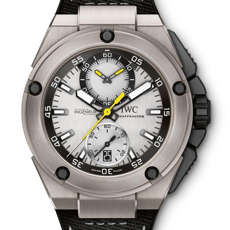 La Cote des Montres : Photo - Nico Rosberg et Lewis Hamilton présentent chacun leur montre IWC