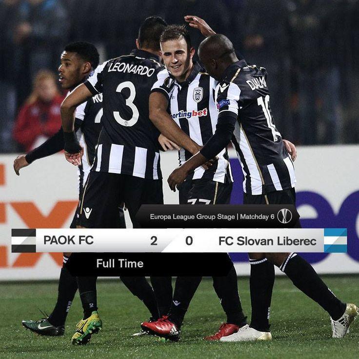 #PAOKFCSL #UEL #win #Toumba