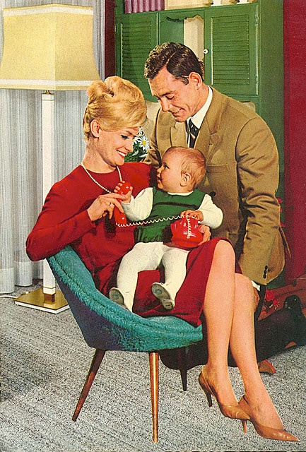 """Oh Stan, look what Santa left us under the tree."" It looked like Carol was going to get away with another surprise baby."