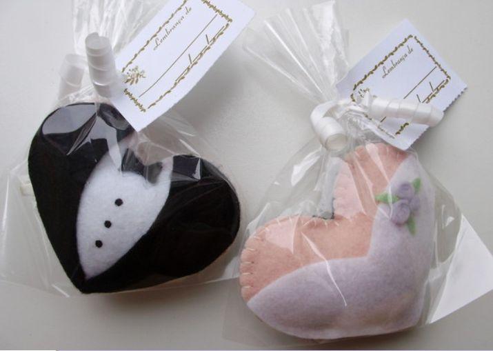 Corações em feltro: Wedding, Craft, For Marriage, Wedding Gift, Wedding Ideas, Weddings, Wedding, Felts, Souvenirs
