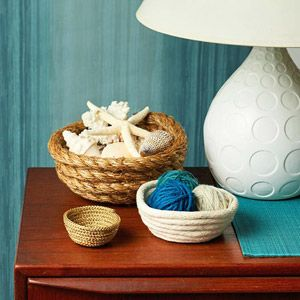 Make nautical rope bowls crafts pinterest created for Where to buy nautical rope for crafts
